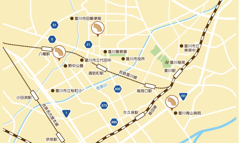 香月堂アウトレットの地図